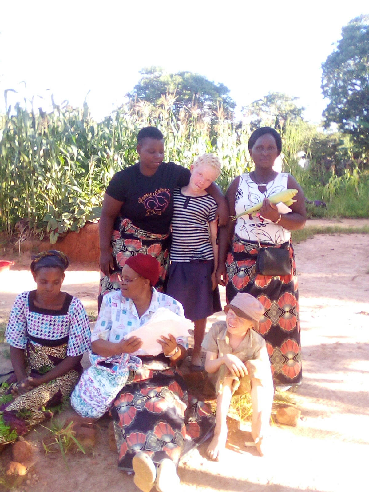 Starting  a  campaign  on  behalf  of  children  with  albinism  in  Malawi