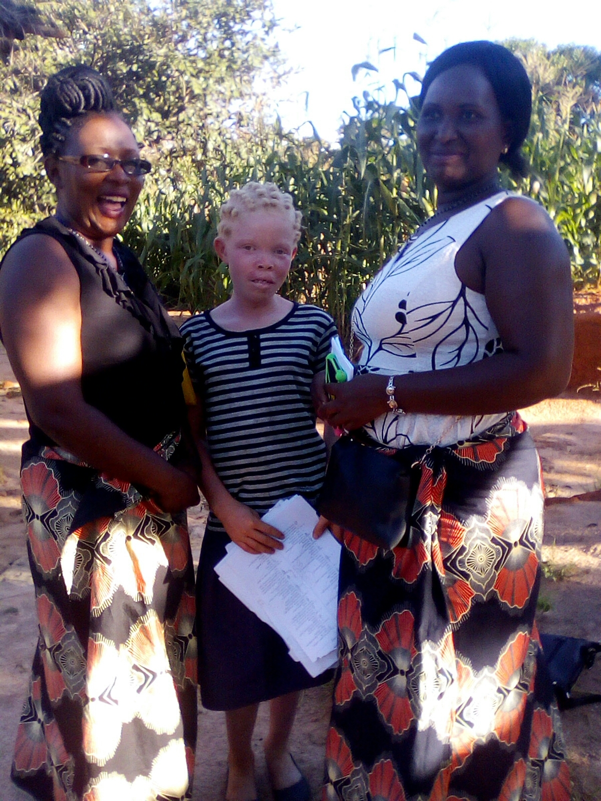 Both  Martha  and  Thoko  are  now  able  to  go  to  the  safe  environment  of  a  boarding  school