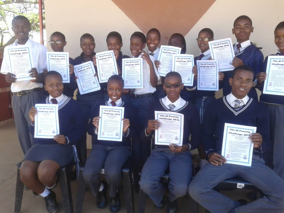 Lerala students research poverty